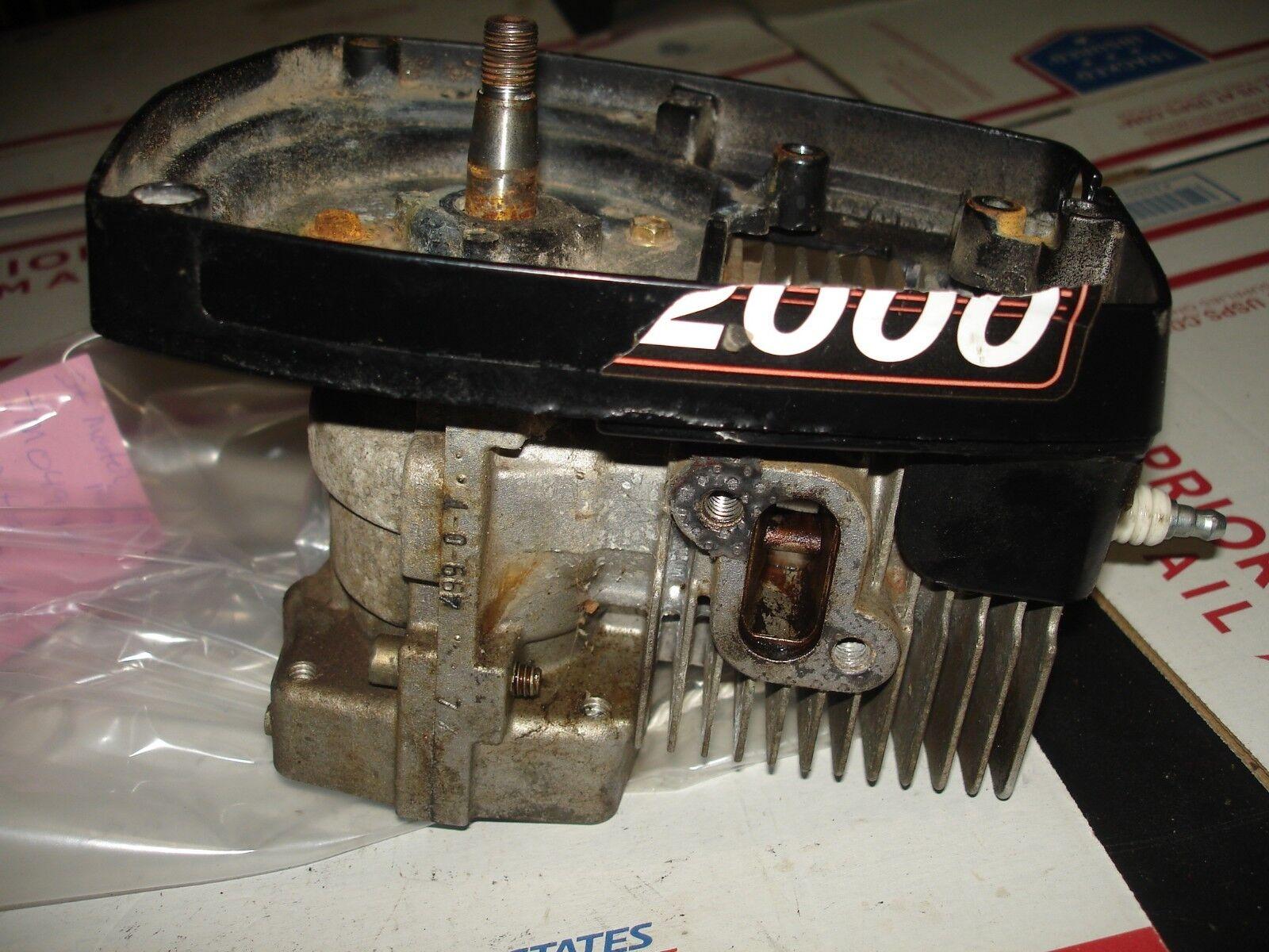 Strikemaster Mag 2000 Cabezal Cabeza de alimentación ICE BARRENA parte bin 336