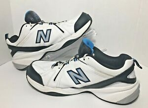 Details about New Balance 608 White Navy Men's Cross Training Shoes Size 13 MX608V4R