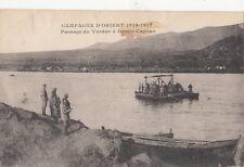 B78592 passage  du vardar a demir capons macedonia  scan front/back image