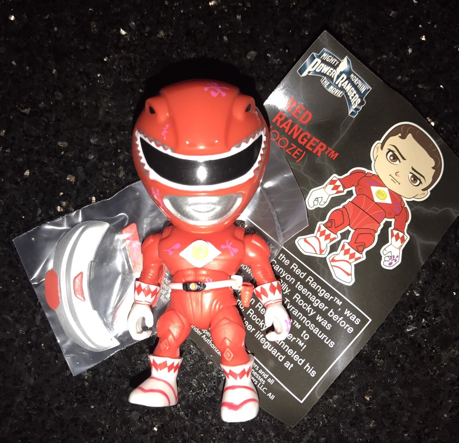 The Loyal Subjects MMPR Power Rangers Toys R Us 1:96 Oozed ROT Ranger CHASE