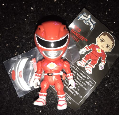 The Loyal Subjects MMPR Power Rangers Toys R Us 1:96 Oozed Red Ranger *CHASE*