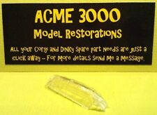 Dinky 739 A6M5 Zero Sen Reproduction Repro - Clear Plastic Canopy