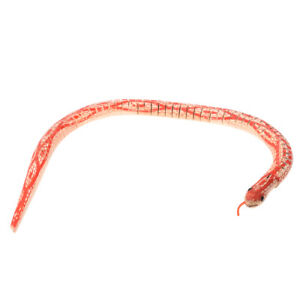 Red-Beige-Wooden-Flexibility-Simulation-Bendy-Snake-Toy-Adorn-CS
