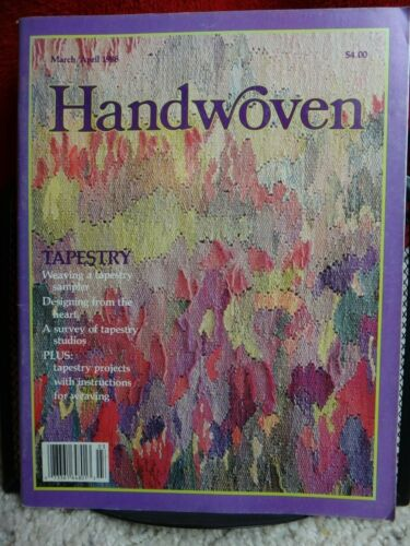 Tapestry Special Issue March//April 1988 Handwoven Weaving Magazine