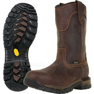 Red Wing Irish Setter Work Boots Wellington pull-on Steel Toe ...