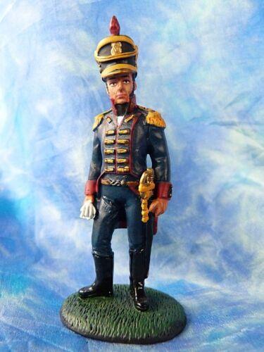 Soldat de plomb 1er empire DELPRADO - Capitaine, artillerie à pied Espagne 1812