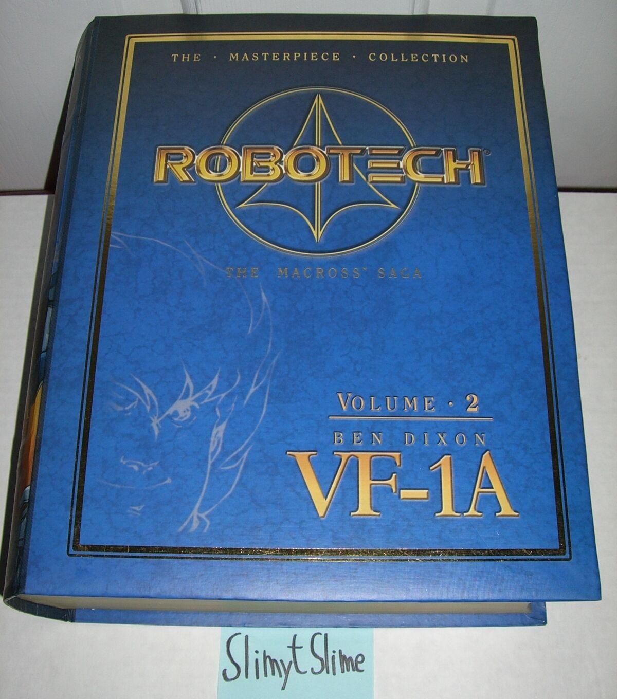Robotech Macross Masterpiece Collection Vol. 2 Ben Dixon VF-1A VF-1A VF-1A w  Cel EUC RARE a53558