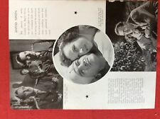 m2v ephemera 1950s film picture article david niven a matter of life or death
