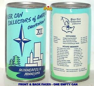 1982-MINNESOTA-BEER-CAN-COLLECTOR-AMERICA-BCCA-CONVENTION-12-TWIN-CITY-FLAT-TOP