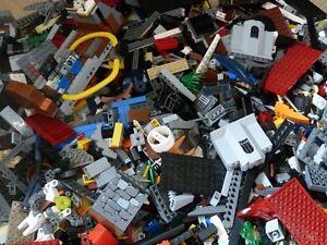 1-kg-LEGO-ca-700-Teile-LEGO-Kiloware-Platten-Raeder-Sonderteile-Steine