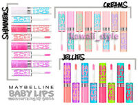 Maybelline Baby Lips Gloss X 4 You Choose Colors Shimmers Creams Or Jellies