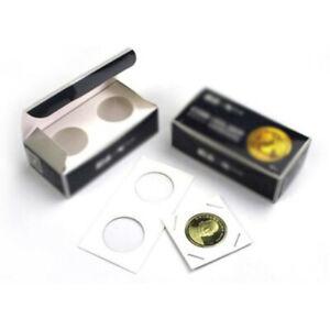 100-X-KENNEDY-Half-Dollar-31mm-2x2-Cardboard-Mylar-Coin-Holder-Flip-US-50-Cent