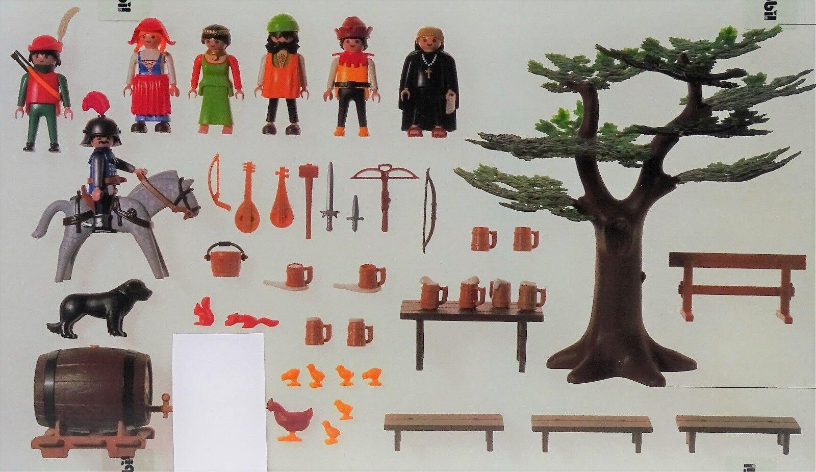 Brigands destructrices Playmobil 6464 à 3627 moine Chêne cuve  dans Original Film NEUF  meilleure réputation