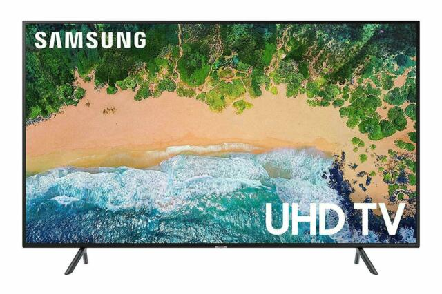 "Samsung UN43NU7100FXZA Flat 43"" 4K UHD 7 Series Smart LED TV"