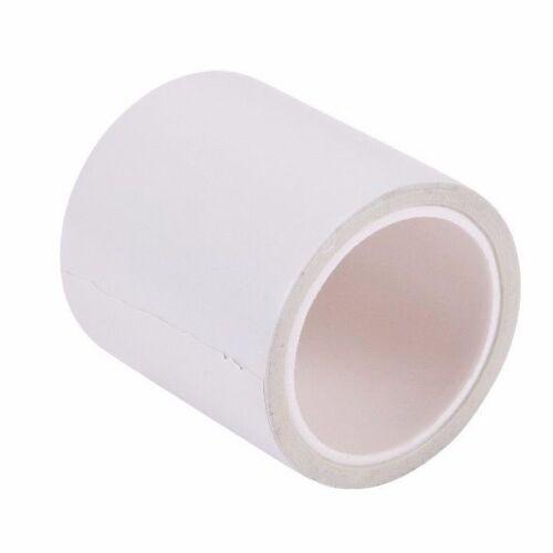 50mm x 4.6 metro di lunghezza Roll-Canalizzazione Nastro adesivo in Bianco Nastro Adesivo