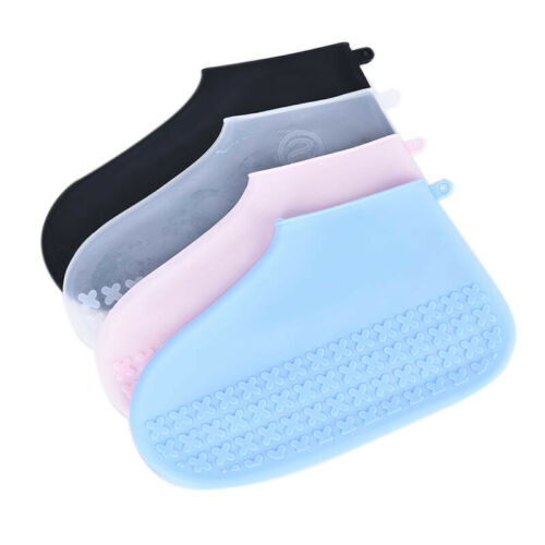 Silicone Overshoes Rain Waterproof Shoe Covers Boot Cover Protector Recycla U/_M