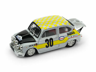 Fiat Abarth 1000 #30 1st Gr.2/5 Rally De Rouen 1969 Limited 250 Pcs 1:43 Model Conveniente Da Cucinare