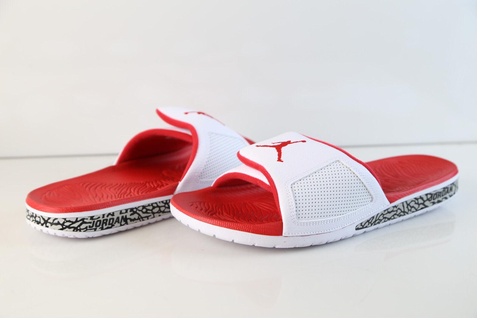 Air Jordan Hydro III Retro Slide White Fire Red 854556-116 7-14 sandal 3