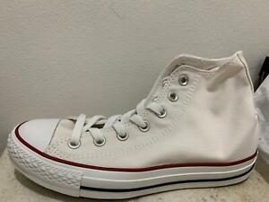 Details about WHITE CONVERSE ALL STAR TRAINERS SIZE 7 EUR 40