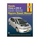 Honda Civic & CRV Automotive Repair Manual: 01-10 by Haynes Manuals Inc (Paperback, 2010)