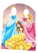 Disney Princesses Stand In Large Cardboard Cutout Cinderella Belle Photo Prop