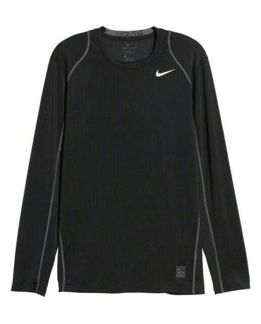 Men's NIke Pro Dri-Fit Long Sleeve Fitted Shirt Size XXL