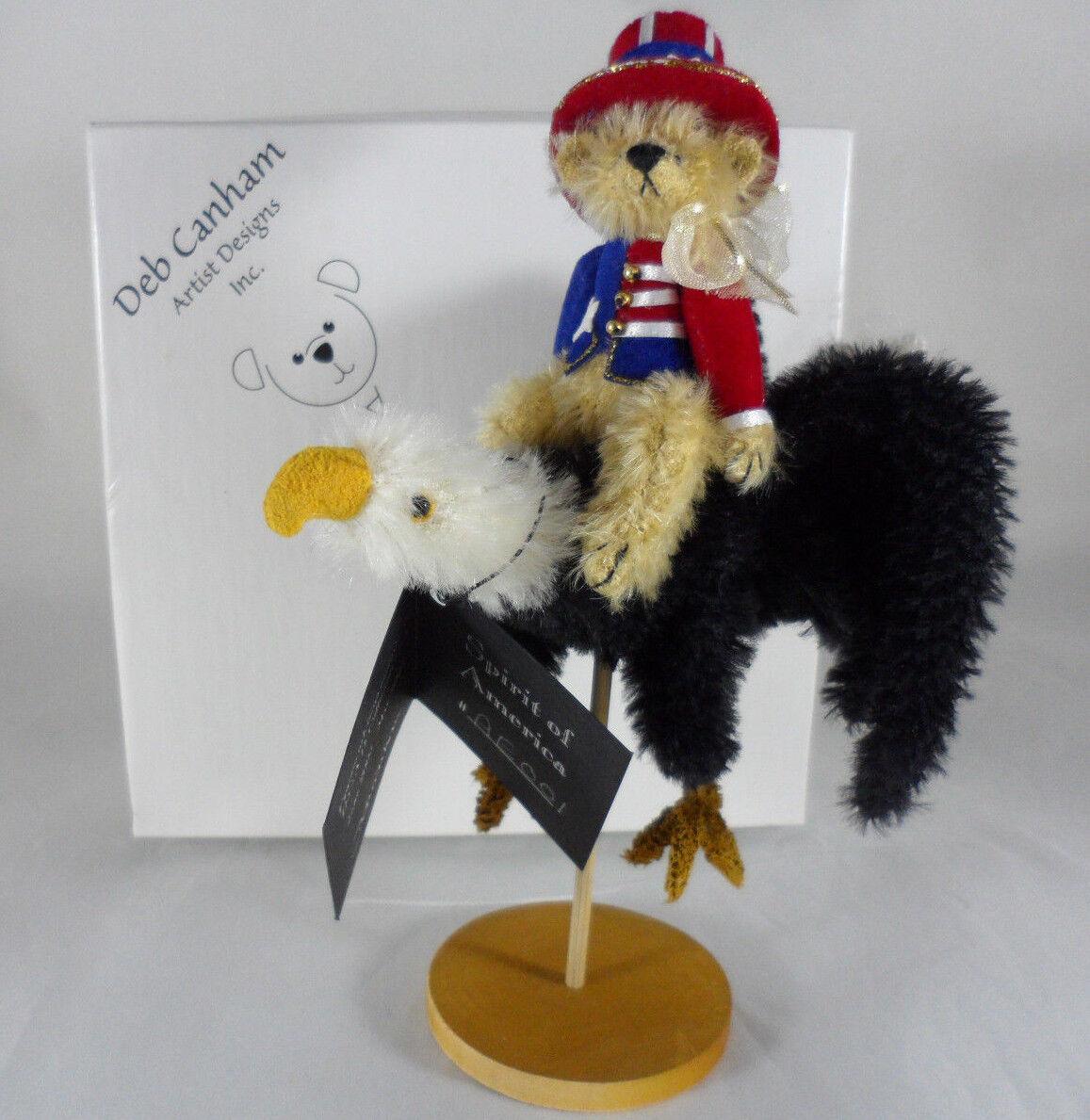 Deb Canham Spirit Of America w Tag & Box D.C.A.D. Collectors Club