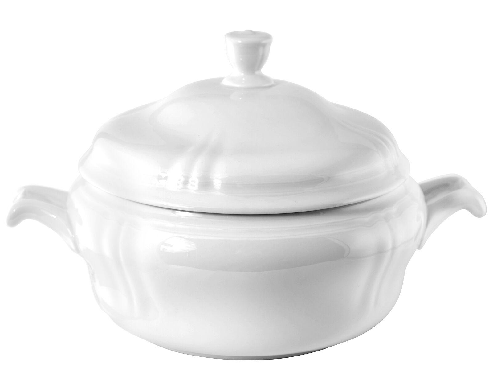 H&H Zuppiera Porcellana Alba Lt 3 utensile da cucina