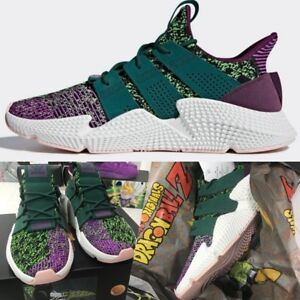 online retailer 36260 b600e Image is loading Adidas-Originals-Dragon-Ball-Z-Propher-Cell-Shoes-