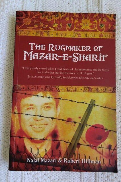 The Rugmaker of Mazar-e-Sharif by Najaf Mazari, LIKE NEW FREE POST WITH TRACKING