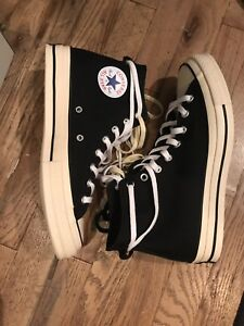 4783a92c5812 Converse Chuck Taylor All-Star 70s Hi Fear of God Black FOG Complex ...