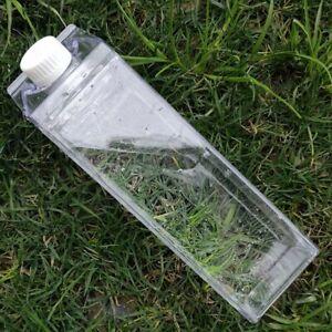 Kitchen Leakproof Creative Transparent Clear Milk Water Bottle Drinkware Outdoor