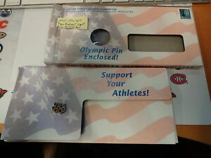 "2001 Olympic "" Team Partner "" Lapel Pin Original Box"