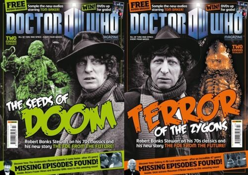 Our Choice Of Covers Dr Doctor Who Magazine # 443 US Seller UK Import