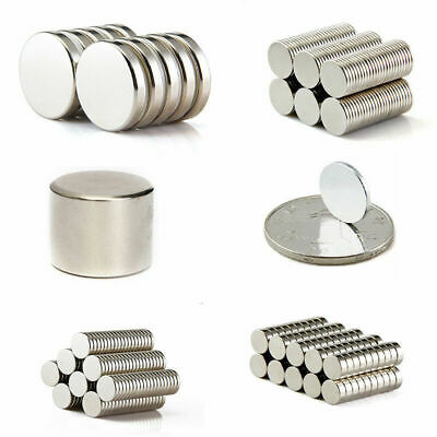"""20pcs Strong Disc Cylinder Round Magnets 15x1mm//0.59x0.04/"""" Rare Earth W//Box N50"""
