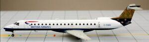 Inflight IF145008 British Airways ERJ-145 India Tail G-EMBI Diecast 1/200 Model