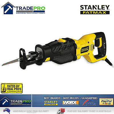 Stanley Fatmax® Recipro Saw 1050w Complete Kit with Blade Reciprocating SabreSaw
