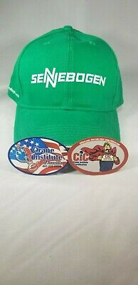 Sennebogen Crane Beanie $Rare$ and Stickers Crane Oilfield Mining Construction