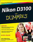 Nikon D3100 For Dummies by Julie Adair King (Paperback, 2011)
