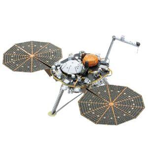 Metal-Earth-Insight-Mars-Lander-3D-Metal-Kit-Original-1193
