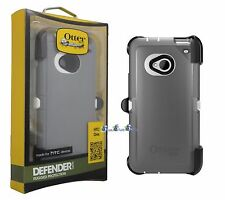 OTTERBOX Defender Series Case for HTC One M7 - Gray/white