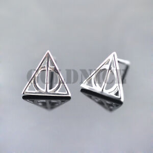 3e04ab22a Image is loading 925-Sterling-Silver-Harry-Potter-Inspired-Stud-Earrings-