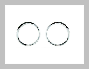 Ormax Chrome Styling Dashboard Gauge Ring Set for BMW E90 E91 E92 E93 M3