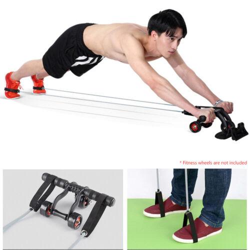 2Pcs Pull Rope Fitness Set Muscle Training Band Gym Resistance Elastic Yoga Mgic