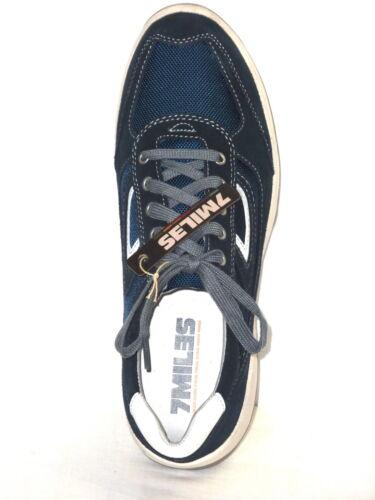 Pelle E Tennis Microfibra Casual Uomo N Blu Allacciate Sportive Nabuk Scarpe 44 xXaAqRSg
