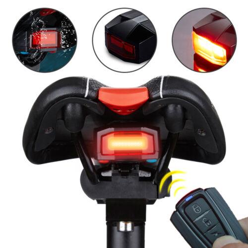 3-in-1 Fahrrad Wireless Alarm Rücklicht Hupen mit Fernbedienung Fixed Position