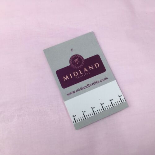 100/% Baumwolle Organza Steif Leichte Stoff Verwendet Für Vorhang /& Futter 109cm