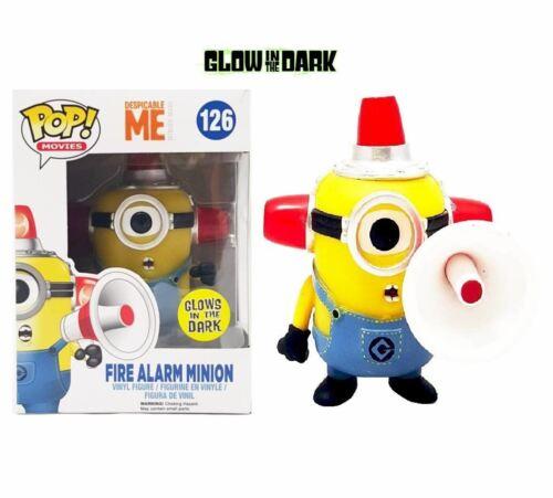 Vinyl Figure FUNKO films Méprisable Me Fire Alarm Minion Pop
