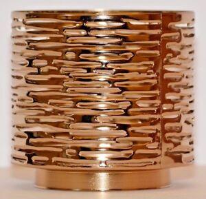 Bath-amp-Body-Works-Good-Wood-Grain-3-Wick-Candle-Sleeve-Holder-New