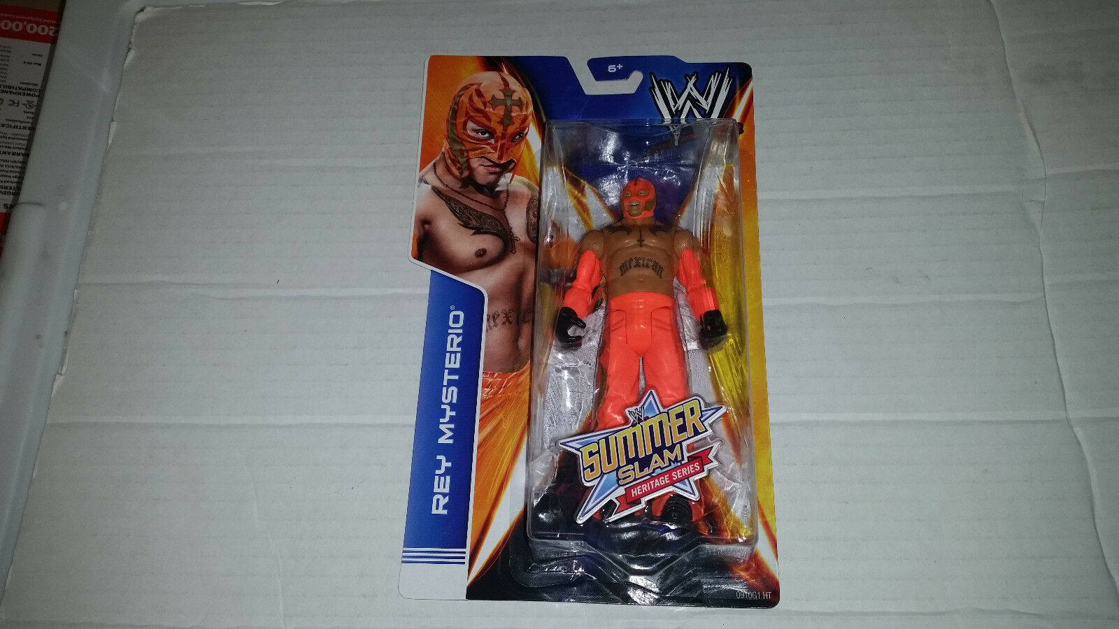 WWE Summer Slam Heritage Series Action Figure Asst. CGH76 CGH76 CGH76 NEW SEALED ALL 6 d44aa0